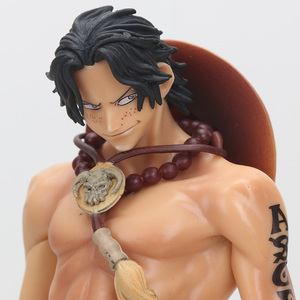 Image 3 - Anime One Piece Figure Ace Shanks Monkey D Luffy Figure Zoro Sanji law trafalgar Sabo One Piece Anime MSP PVC Model Toys