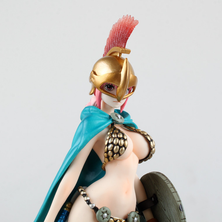 9 Inch One Piece Rebecca Sexy Gladiator Rebecca PVC 23cm Action Figure Collectible Model Toys rebecca one piece anime pop pvc action figure collectible model toy 22cm