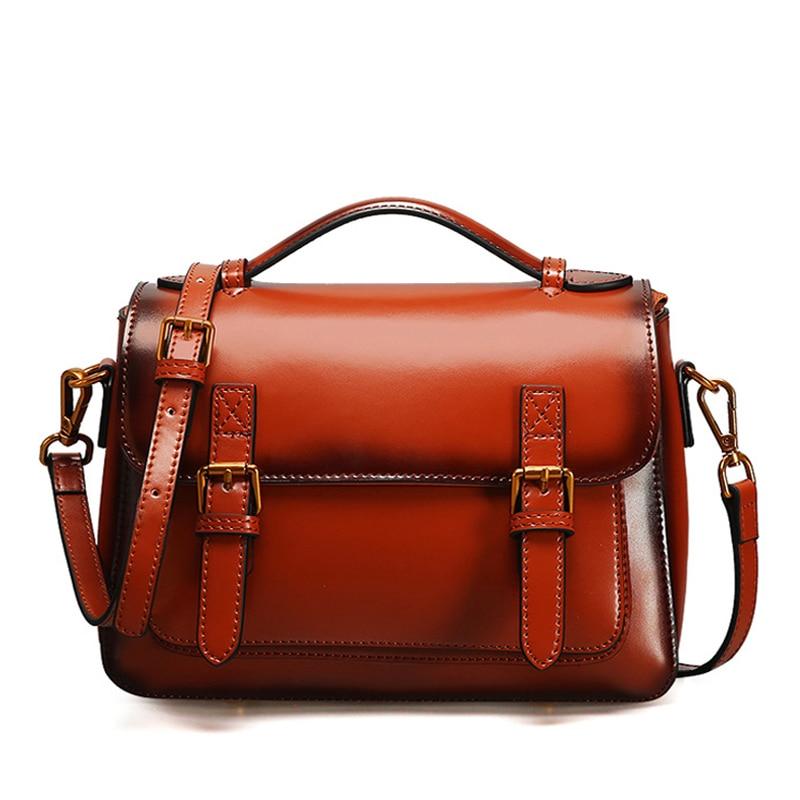 Women Genuine Leather Bags Handbags Female Shoulder Bag Fashion Woman s Handbag Men s Messenger bags