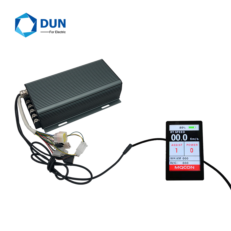 Sabvoton MQCON 72v 150A 3KW 4KW SVMC72150 BLDC Motor Controller With TFT H6 Color Display Conversion Kits For Electric Bicycle