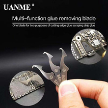 UANME B&R Woodworking Precision Steel Thick Hard Blade Engraving Craft Sculpture Knife Scalpel Cutting Tool for PCB Repair