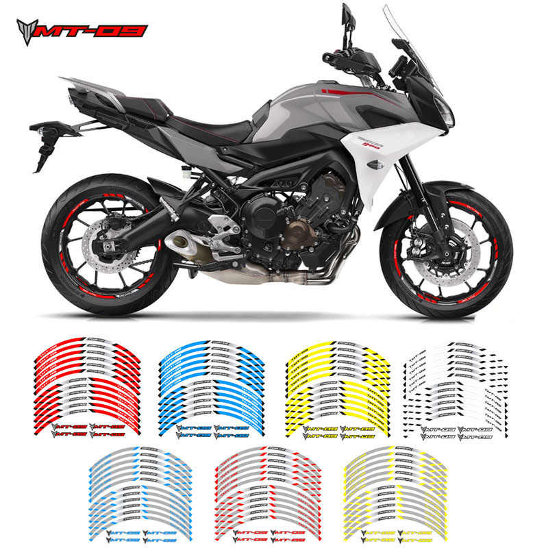 Motorcycle Superbike Sticker Decal Pack Waterproof High quality for Yamaha FJ09