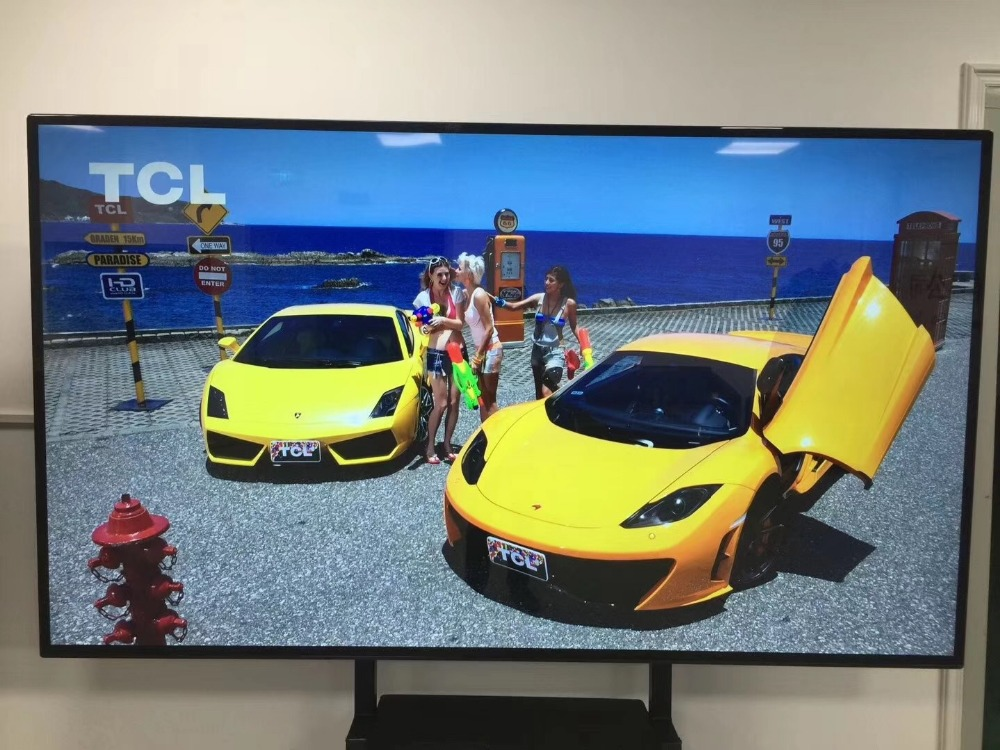 OEM 55 60 65 70 75 inch HDMI <font><b>4K</b></font> SMART WI