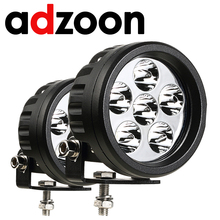 Adzoon  Car led Work Light Round 18W 4INCH Tractor Lights for Truck Motorcycle