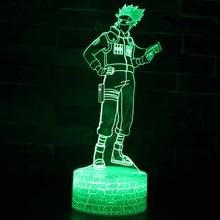 Naruto Uzumaki 3D LED Color Changing Night Light