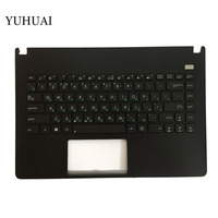 Nouveau Clavier Russe pour Asus X401 X401A X401U Noir clavier Avec C Cas et Clavier D'ordinateur Portable