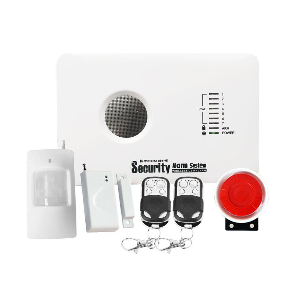 APP Smarts système D'alarme Russe Anglais espagnol Polonais Sans Fil d'alarme de sécurité À Domicile alarme gsm système
