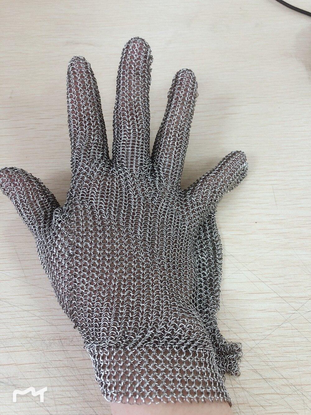 Whitting davis из нержавеющей стали, металлическая сетка, стальная цепочка, перчатки для мяса, перчатки для мясника glvoe - 5