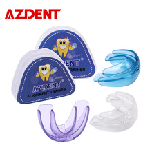 AZDENT 1 Set Pro Silicone Tooth Orthodontic (Lembut + Keras) Dental Appliance Trainer Alignment Braces Untuk Gigi Lurus / Alignment