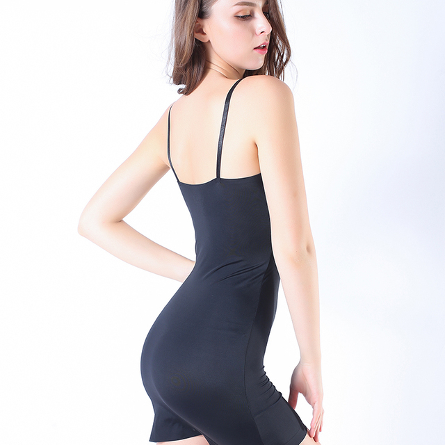 Coloriented 2019 July New bodysuits shaping Vest Seamfree corset sling Camisole Ice Silk Lingeries Shapers Women's Intimates 2