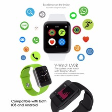 ใหม่สีขาวMTK 2502Cบลูทูธ4.0สมาร์ทดูกล้องกีฬาออกกำลังกายข้อมือโทรศัพท์ไร้สายอีเมล์Facebook SMSสำหรับA Ndroid ip hone