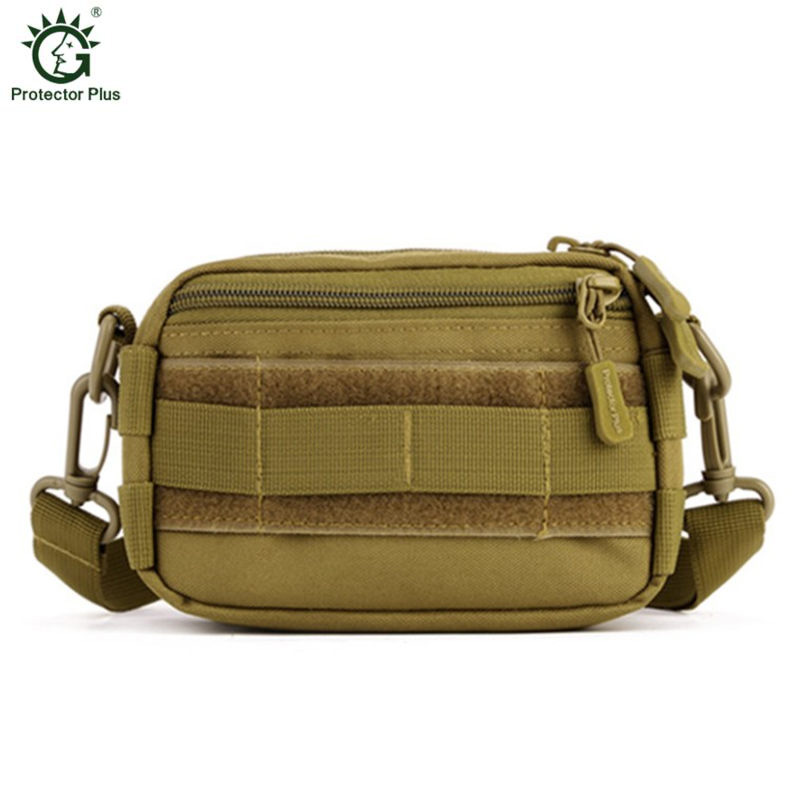 Military nylon inclined shoulder bag hanging bags packet recreational single shoulder bag male external package Free shipping