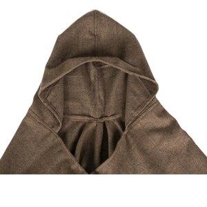 Image 5 - Thiết kế mới 100% ACRYLIC foulard Femme Mùa Thu/Mùa Đông Ấm Thời trang áo choàng poncho 130*150CM Màu Đen/Xám/rượu vang Đỏ/KAKI tippet khăn choàng