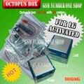 100% original nuevo octopus box para lg + con 20 unids cables reparar y flash + envío libre