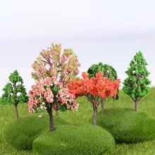 1 шт. садовые украшения мини дерево Фея миниатюры микро пейзаж изделия из смолы фигурка бонсай садовый Террариум аксессуары