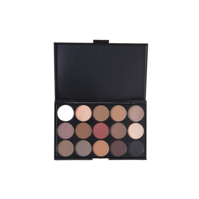 New 2014 15 Colors Smoky Eyeshadow Cosmetic Makeup Palette Earth