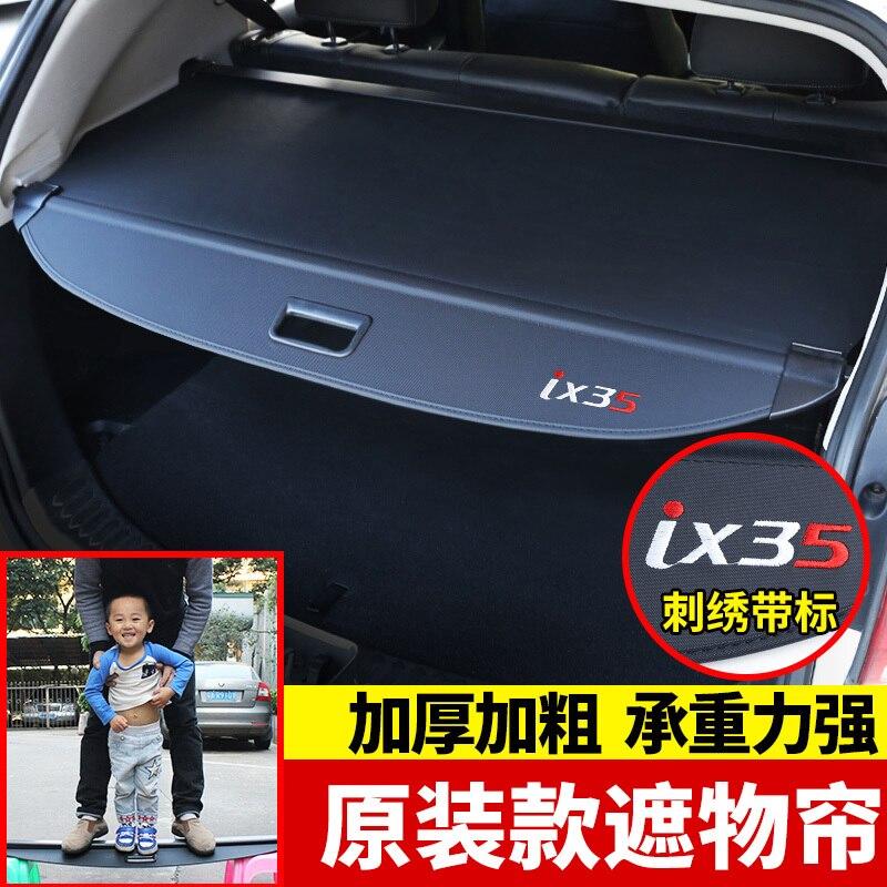 Pour Hyundai IX35 2010-2019 dédié couverture de coffre matériel rideau arrière rideau rétractable espace voiture accessoires de style