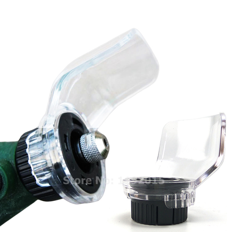 Shield Rotary Tool Attachment Accessories for Mini Drill Electric Grinder Safety Protecting Cover Case  Holder Power Dremel Tool multi electric grinder detailers grip a577 for dremel 4000 3000 rotary tool attachment mini drill handle bar tools accessory