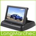 """Venda Nova 4.3 """"TFT LCD Monitor Do Carro Com Entrada de Vídeo 2Ch Para Car Rear View Camera Invertendo Ou DVD Suporte NTSC/PAL"""