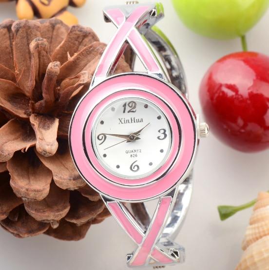 Fashion Brand Top Brand Luxury Women Quartz-watch Stainless Steel Ladies Analog Bracelet Watch women montre femme wrist watches  недорого