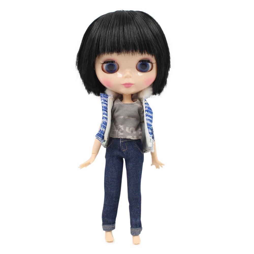 Darmowa wysyłka fabryka blyth doll chłopiec ciało BL9601 czarne krótkie włosy wspólne ciało naturalna skóra 1/6 30cm w Lalki od Zabawki i hobby na  Grupa 1