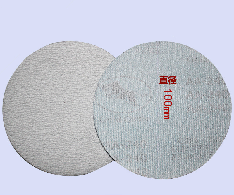 4 Inch Golden Disc Sand Paper, Flocking Sand Paper Polishing Polishing Paper, Self-adhesive Sand Paper 100mm