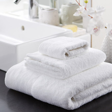 Five adult male and female sports bra Stars Hotel cotton towel increase thickened white towel towel beauty salon