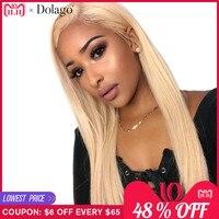 Натуральные волосы синтетические волосы на кружеве 613 Искусственные парики боб мёд блондинка 180% прямые 360 синтетические волосы на кружеве А