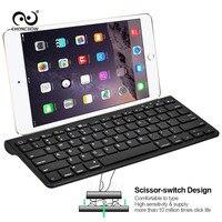 mini wireless bluetooth Mini Bluetooth Keyboard for Phone iPad for Smart TV Multimedia Hot Keys Wireless Keyboard for Android Tablet IOS Windows 7/8/10 (1)