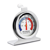 High Accuracy Household Refrigerators Thermometer Supermarket Medical Freezer Cold Storage Wall Mount Temperature Meter