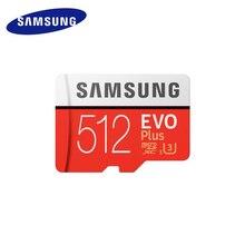 Samsung Evo plus micro sd карта 32 Гб 64 Гб 128 ГБ 256 ГБ 512 ГБ sdxc u3 cartao de memoria tarjeta компактный sd флэш-планшет ноутбук