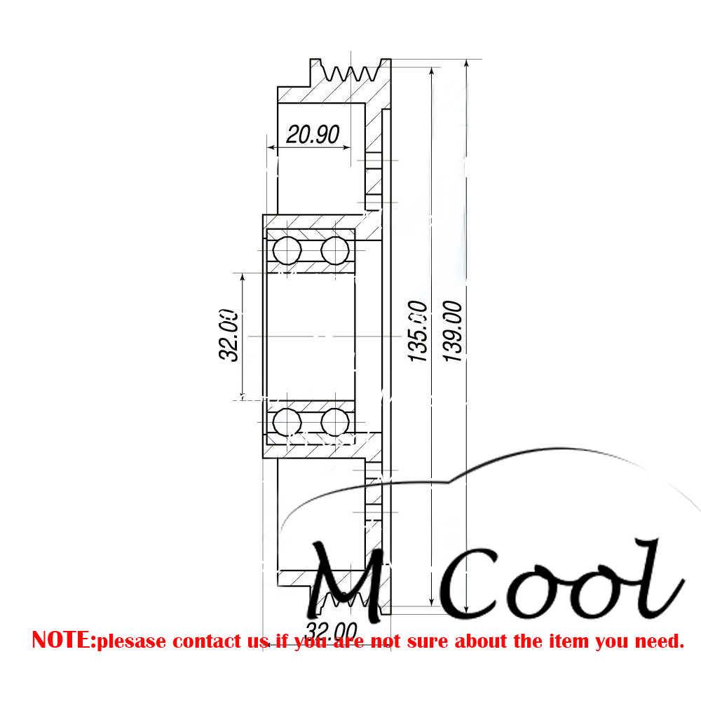 medium resolution of brand new new ac compressor clutch pulley for car mazda 323 bf b22b61k00 b25f61450b b25f61k00a h12a0aa4dl