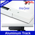 4pcs/lot 1m/pcs 4m Aluminum track Accessories for track light install (LED-TL 001-005) best price