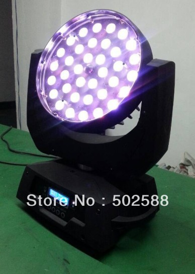 High power 360w 36*10w 4in1 rgbw dmx zoom 10-60 graden auto aanpassing quad kleur led moving head zoom effect stage light