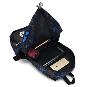 Image 5 - الرجال حقيبة كتف الاتجاه الترفيه طالب حقيبة مدرسية عادية زيبر لينة مقبض أكسفورد حقائب الظهر ZF9832
