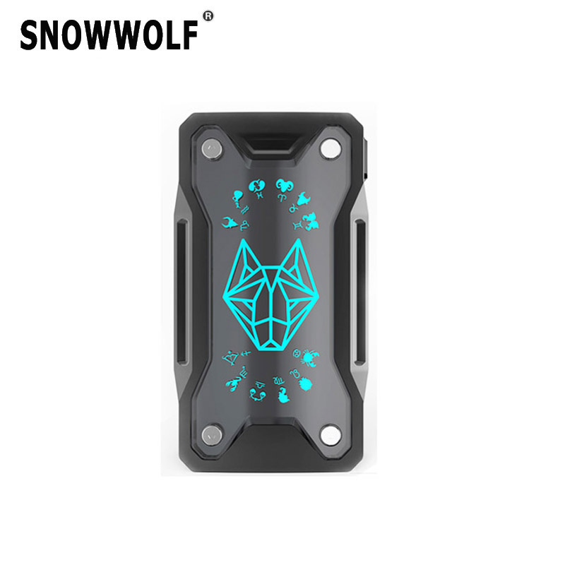 Snowwolf Xfeng 230 W TC Scatola Vape Mod Powered By Dual 18650 Batterie Sigaretta Elettronica Adatta 510 Filo RTA RDA RDTA vaporizzatore