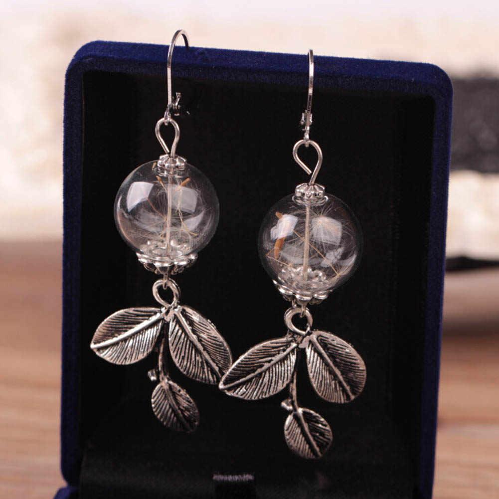 חרוזי קריסטל זכוכית אביזרי Diy שן הארי גלובוס החממה זכוכית עגיל עגילים לנשים