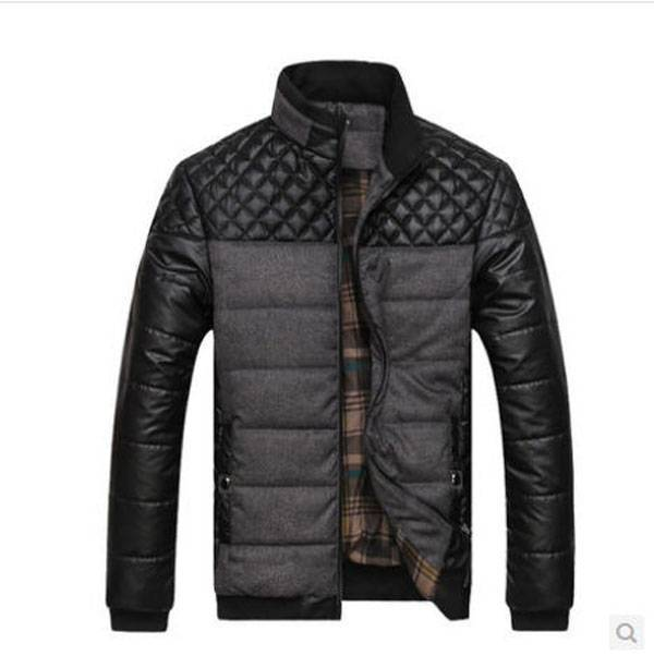 Men  winter cotton padded jacket hoodies coat latest clothes outwear for male casacos masculino 2014 ropa hombre S641