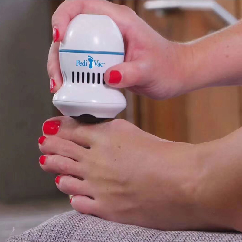 Pedi Vac Foot File and Callus Remover – Physiotherapy Tool