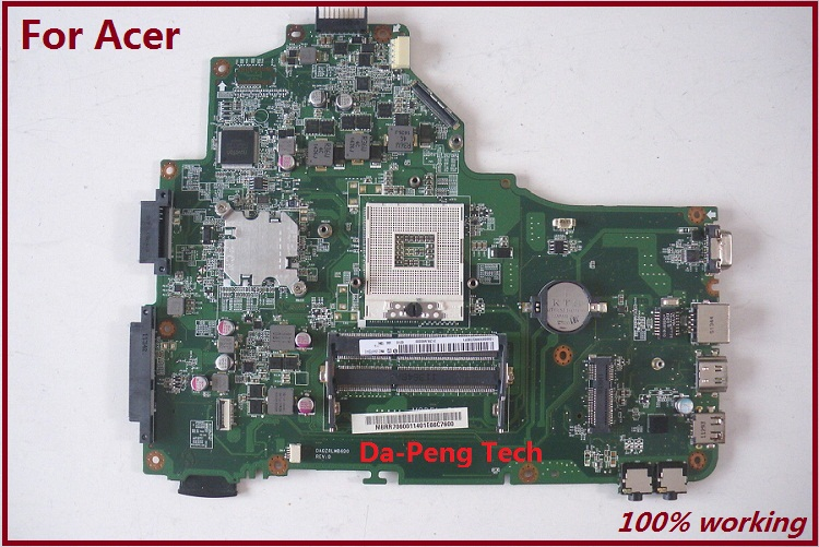 100 Original FOR Acer Aspire 5749 5349 Motherboard MBRR706001 DA0ZRLMB6D0 MB RR706 001 DDR3 working perfect
