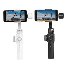 ФОТО zhiyun zhi yun smooth 4 3-axis focus pull & zoom capability handheld gimbal stabilizer for iphone x 8 7 plus samsung s8+ s8
