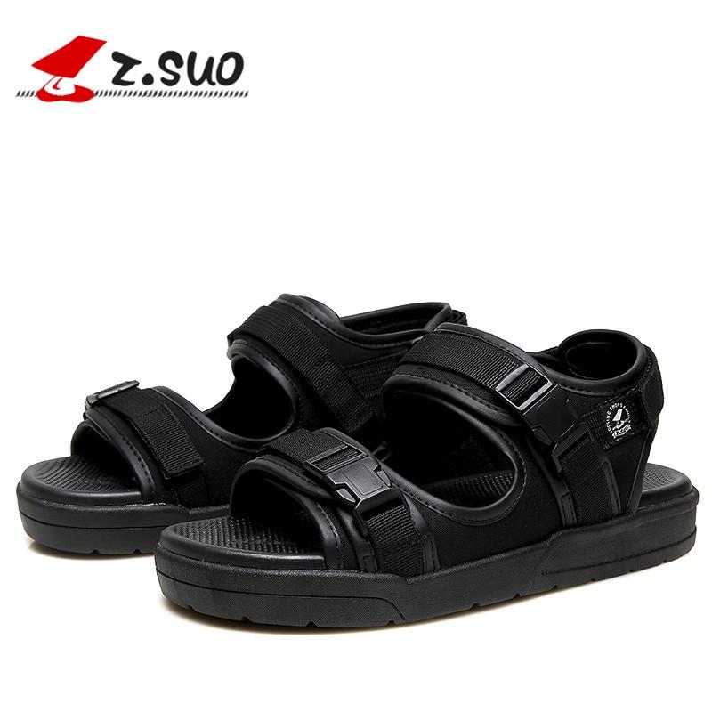 Z Marque Noir Plage Mode Des Sandales En D'été Occasionnels gris Antidérapantes De Qualité Haute Semelles Chaussures Suo Sandales Caoutchouc Hommes r5UIrw