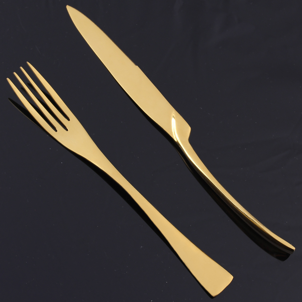aliexpress com buy lekoch dinner set stainless steel cutlery
