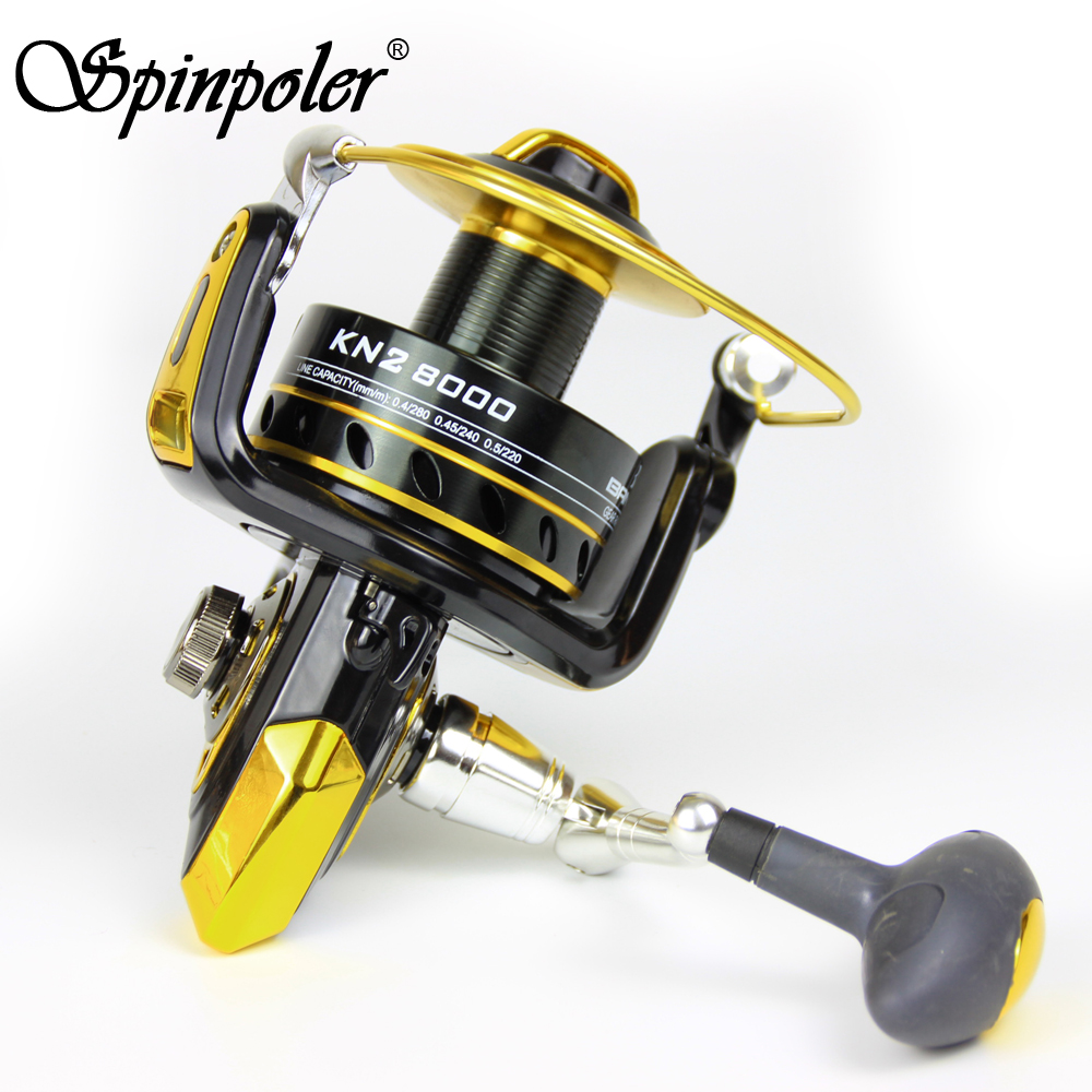 Spinpoler cheap spinning reel 6000 7000 8000 10000 for Cheap fishing reels