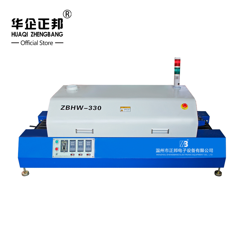 Infrared Reflow Oven Machine For PCB/ Mini Desktop SMT Reflow Soldering Oven