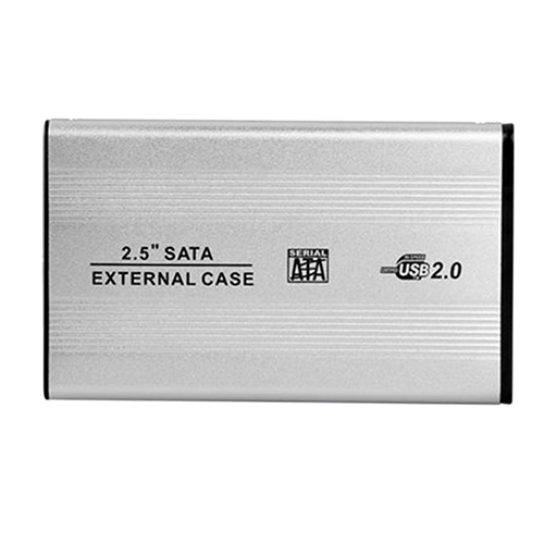 Portable USB 2.0 SATA Enclosure External Case For Notebook Laptop Hard Disk
