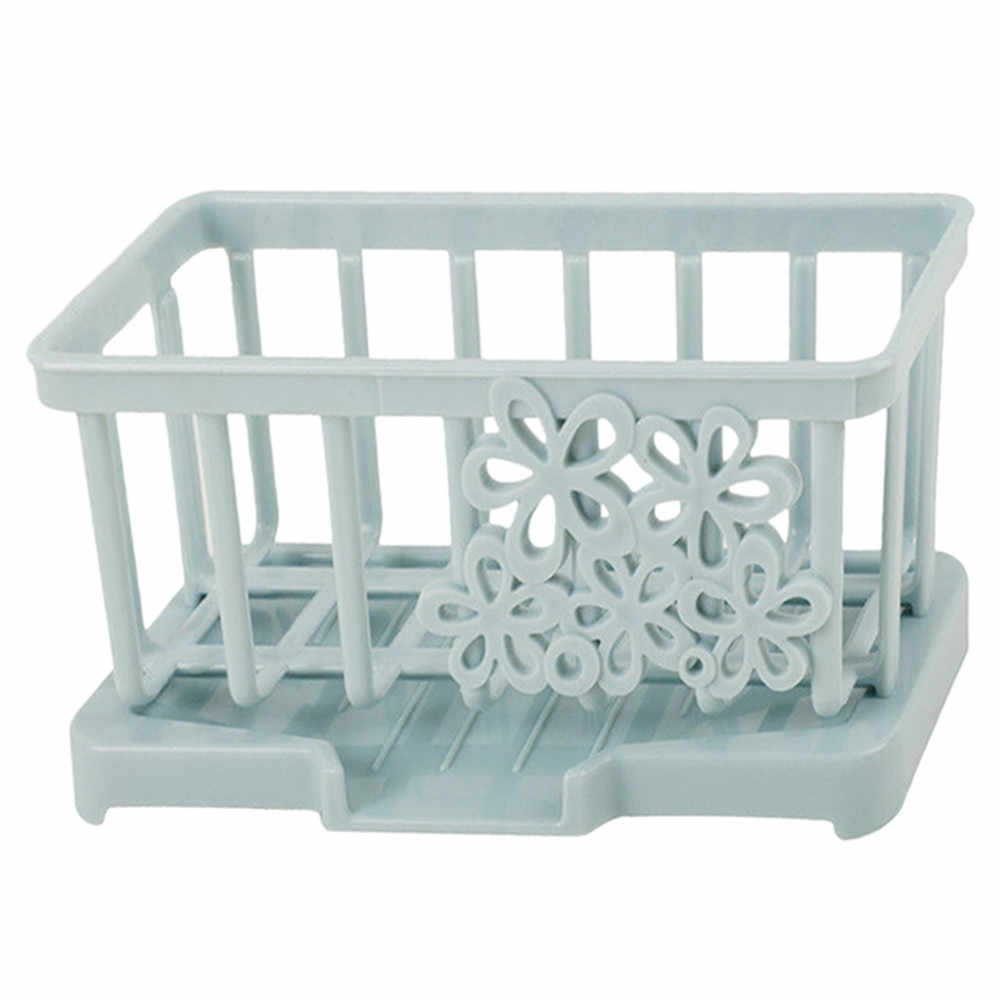 Kitchen Sink Caddy Sponge Holder Storage Organizer Soap Drainer Rack Strainer the goods for kitchen accessories organizer 2019