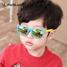 WarBLade TR90 Flexível Crianças Óculos Polarizados Criança da Segurança Do  Bebê UV400 Coating Óculos de Sol 5e6dc5f9f3