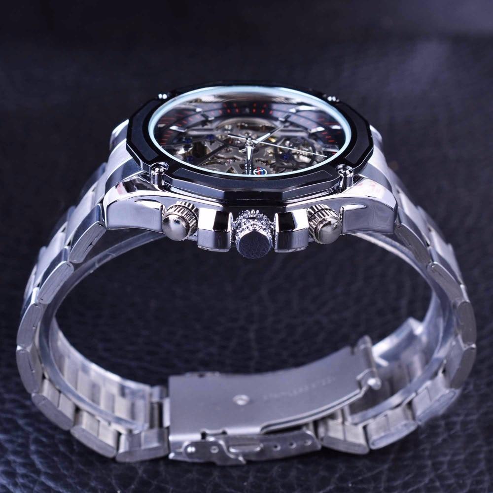 Forsining Μηχανική Steampunk Σχεδιασμός Μόδα - Ανδρικά ρολόγια - Φωτογραφία 4