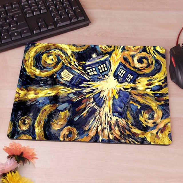 Doctor Who Tardis Mouse Pad